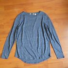 BN CR Country Road Winter 2016 Women's Linen T-Shirt Indigo Marle Size S,M