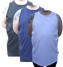 Azzuro Mens Plain Vest (2XL -8XL)
