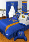 West Virginia Mountaineers Comforter Bedskirt Sham Valance Twin to King Size
