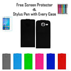 Premium Leather Pu Flip Book Wallet Case Cover Holder For Samsung Galaxy J1 Mini