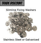 Tile backer board fixing washers Packs of 100
