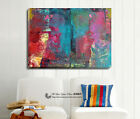 Vintage Abstract Pattern Stretched Canvas Print Framed Wall Art Home Shop Decor