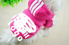 Fashion Small Big Pet Dog Cat Puppy Warm Sweater Hoodie Coat Costume Apparel New