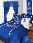 Kansas City Royal Comforter Bedskirt Sham & Valance Twin Full Queen King Size