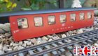 NEW G SCALE 45mm GAUGE RAILWAY TRAIN COACH BODY CONVERT TO HOUSE STORE STABLE
