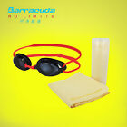 Barracuda Swimming Optical Goggles #2195(RED)&  #CHAMOIS TOWEL set FREE SHIPPING