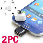 2 pc OTG Converter New Adapter Kit Cheap Mini USB For Android Phone Tablet j