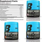 Beast Sports Nutrition BEAST MODE BLACK Pre-Workout Pump  **