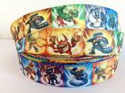"Skylanders Sky Landers 1"" Grosgrain Ribbon for Hair Bows Cake Card 1m Metre"