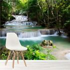Tropical Forest Waterfall & River Landscape Wall Mural Nature Photo Wallpaper