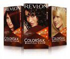 REVLON COLORSILK BEAUTIFUL COLOR PERMANENT HAIR DYE  #03 ~ #48 *PICK 1