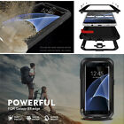 For Samsung Galaxy S6 Edge+ S7 Waterproof Shockproof Safety Metal Case Cover NEW
