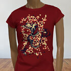 Roman Alpha Mighty Thor Tough Greek God Abstract Womens Red T-Shirt