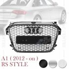 RS1 HONEYCOMB FRONT MESH HOOD GRILLE for AUDI A1 S1 2012-2015 3 VERSIONS