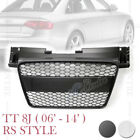 TTRS HONEYCOMB SPORT FRONT HOOD GRILLE for AUDI TT TTS 8J 2006-2014 2 VERSIONS