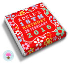 Personalised FUNKY FLOWER 10th 12th 16th 18th Birthday Party Favour Chocolates