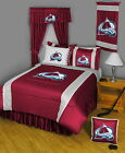 Colorado Avalanche Comforter & Pillowcase Twin Full Queen King Size