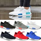 Womens Ladies NMD Fashion Trainers Sneakers Flat Runner Lace Sports Shoes Size