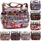 Women Lesport Style Nylon Crossbody Bag Messenger bag Cute Cartoon Handbag Purse