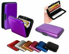 NEW PLASTIC METAL POCKET BUSINESS ID CREDIT CARD WALLET HOLDER WATERPROOF CASE
