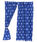 BOYS PLAYHOUSE CURTAINS ~ PLAYHOUSE BUNTING ~ ACCESSORIES ~ BLUE STARS