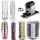 NEW Revolving Rotating Capsule Coffee Pod for Nespresso Holder Tower Stand Rack