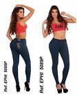 Colombian Brazilian Design Push-up Levanta Cola Butt Lift Skinny Jean EPHI 5089