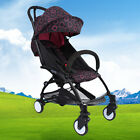 New Pushchair Lightweight Mini Baby Stroller Buggy From Birth Pink Round Stock