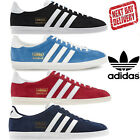 Adidas Gazelle OG Lace up Retro Classic Fashion Casual Red White Trainers
