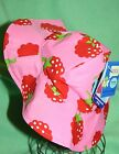 iplay sun hat with ties Infant birth 0-6 mo Raspberries UPF 50