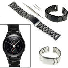 For Samsung Gear S2 Classic SM-R732 20mm Watchband Stainless Steel Replace Strap