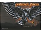 PRIMAL FEAR - JAWS OF DEATH LOGO - OFFICIAL TEXTILE POSTER FLAG