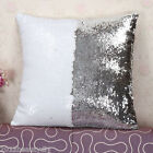 2016 Shine Sequins Squamous Fish Bicolor Scale Pillow Cases Cushion Covers