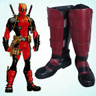 Comics Version X-Men Deadpool Overall Battleframe Boots Cosplay Shoes Custom