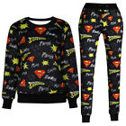 Superman 3D Print T-shirt Top Pants Sweater Sweatshirts Tracksuits Jogger Sports