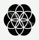 Stencil Seed of Life Sacred Geometry 5 Sizes You Choose Size Free Shipping