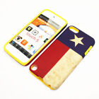 For Apple iPod Touch 5th Gen Hybrid 2-in-1 Cover Case Texas State Flag
