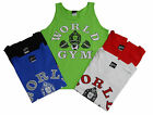 World Gym Athletic Tank Top- New