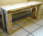 Chunky. Rustic Bench, Kitchen/dining room Traditional seating.- Style number 4 -