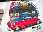 Pepsi Cola Diner street rods 50's cars 33-34 ford  t shirt M-L--XXX