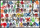 """BEN 10 4"""" Action Figure Lot 2 Many to Choose from...Alien Force,Ultimate + More!"""