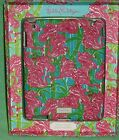 Lilly Pulitzer iPad Cover Featured In Fan Dance Pink Green Blue Flamingo NIP