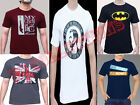 New Mens T-shirt Crew Neck Short Sleeves 100% Soft Cotton S,M,L,XL
