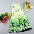 ladies summer dress girls summer dress beach dress nice flora chiffon dress