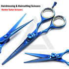 Razor Blue Salon Hairdressing Barber Scissors Sharp Razor Hair Cutting Shears CE