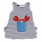 Mud Pie Crab Dress Girl Size 9M-5T #1142164 NWT