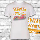 2015 WHAT A LET DOWN HOVERBOARD - BACK TO THE FUTURE DAY T-SHIRT - MARTY MCFLY