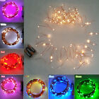 10M 100 LED Christmas Light Wedding Party Lamp Copper Wire String Fairy Lights