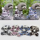 Внешний вид - Soft Cute Warm Winter Hoodie Jumpsuit Coat Snow Clothes Costume Pet Dog Puppy