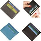 Ultrathin Mens Leather Card Holder Money Case Coin Wallet Purse Clutch Hot Sale